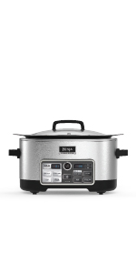 Ninja, Cooking System, Slow Cooker, Auto-iQ, CS960