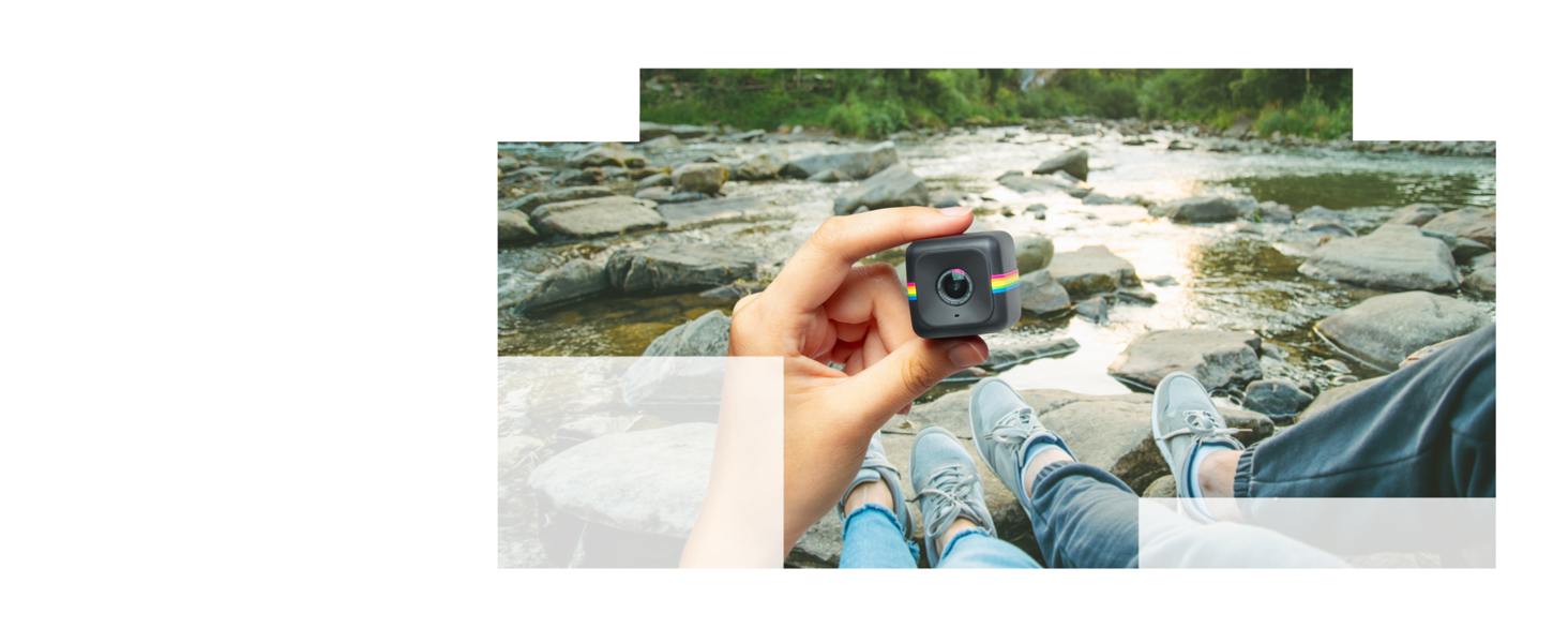Polaroid Cube HD 1080p Lifestyle Action Video Camera (Black) [Discontinued by Manufacturer]