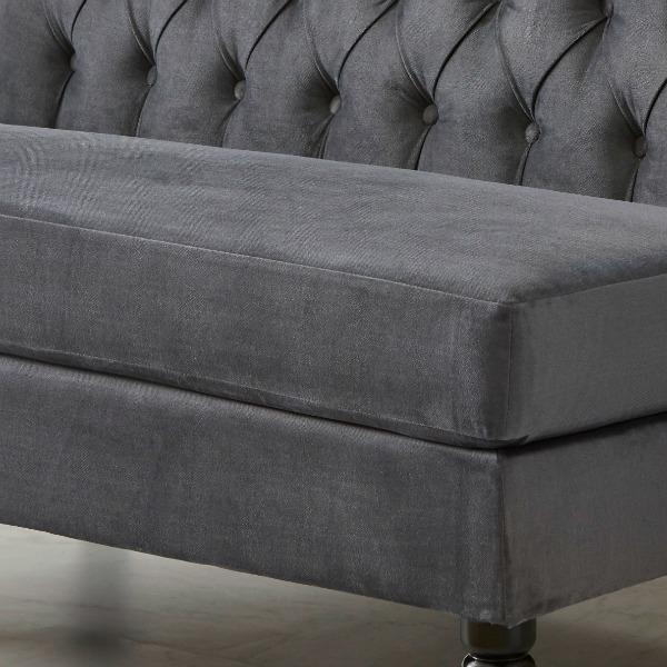 Hayden Dining Banquette: Amazon.com: Pulaski Button Tufted Upholstered Settee In
