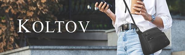 Koltov womens crossbody koltov tote koltov satchel leather crossbody