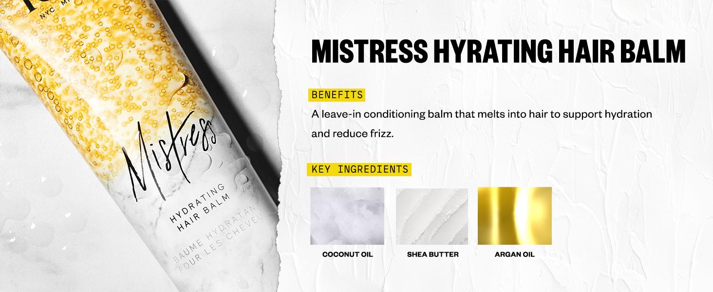 mistress hydrating hair balm