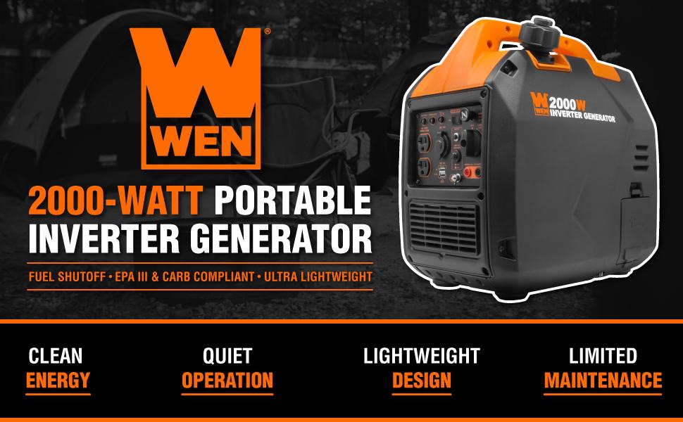 WEN 56203i Portable Inverter Generator