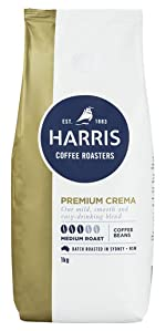 Harris coffee, medium roast, coffee beans, premium coffee, whole coffee beans