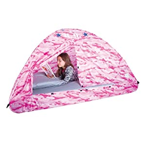 Pacific Play Tents Kids Camo Bed Tents - Twin Bed  sc 1 st  Amazon.com & Amazon.com: Pacific Play Tents Kids Pink Camo Bed Tent Playhouse ...
