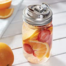 mason jar lid; mason jar drink lid; stainless steel drink lid; stainless steel drink lid; jar lid
