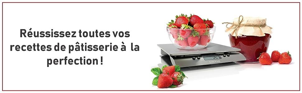 Salter balance de cuisine lectronique 10 kg inox sa 3013 sssvdr cuisine maison - Balance de cuisine 10 kg ...