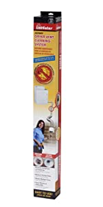 Gardus RLE202 LintEater Rotary Dryer Vent Cleaning System, Removes Lint & Cleans Ducts