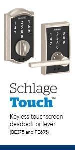 schlage keypad locks schlage touch schlage connect schlage sense