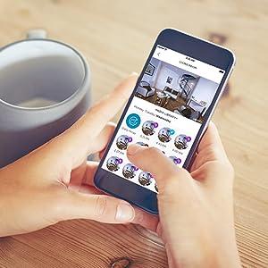 Somfy 2401493 Somfy One Smart Alarmsystem Mit Integrierter Kamera 90 Db Sirene Tierfreundlicher Bewegungsmelder Integrierter Akku Weiß Baumarkt