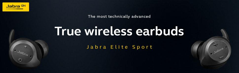 elite sport, jabra, true wireless