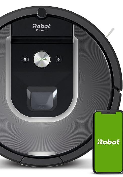 Robot aspirador iRobot Roomba 981 Alta potencia y Power Boost, Recarga y sigue limpiando, Óptimo mascotas, Cepillos antienredos, Dirt Detect, Sugerencias personalizadas, Compatible asistentes voz: Amazon.es: Hogar