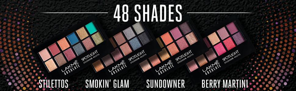 Lakmé Absolute Spotlight Eye Shadow Palette Sundowner 12g at best price