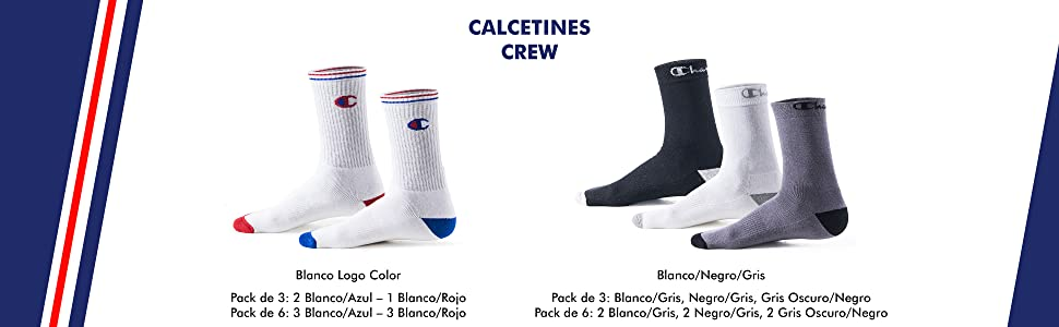 champion hombre;champion mujer; champion calcetines;calcetines deportiva;sportswear; pack calcetines