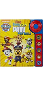 Paw Patrol - Ding Dong, It's the Paw Patrol! Sound Book