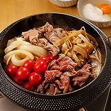 まいにち小鍋 小鍋 合わせ肉でトマトすき焼き
