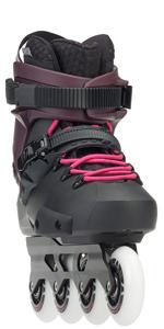 women molded skates, women hard boot skates, twister Edge women, women's inline skates,