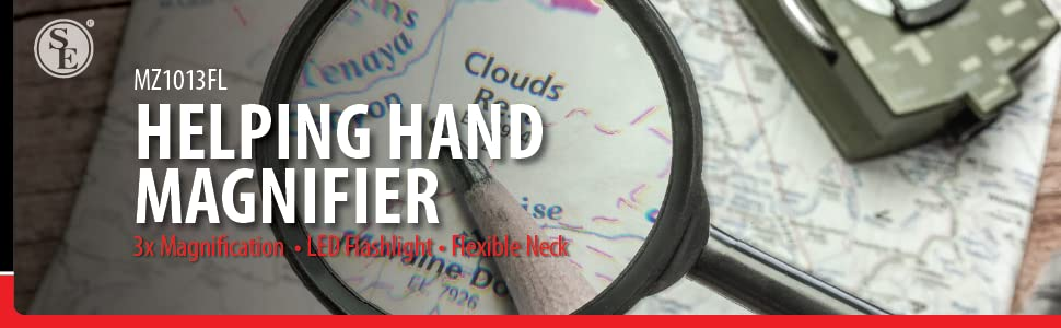 SE Helping hand magnifier hands free