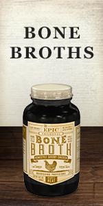 EPIC bone broth jar