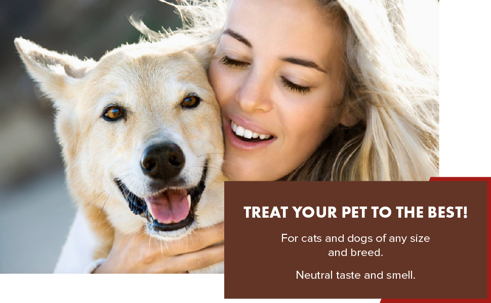 PetSilver respiratory solution is for cats and dogs of any size and breed. Neutral taste and smell