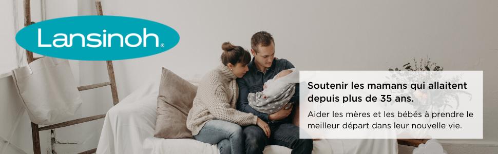 lansinoh allaitement maternel bébés recueil lait