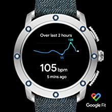 Diesel On Mens Axial Smartwatch- Powered with Wear OS by Google with Speaker, Heart Rate, GPS, NFC, and Smartphone Notifications.