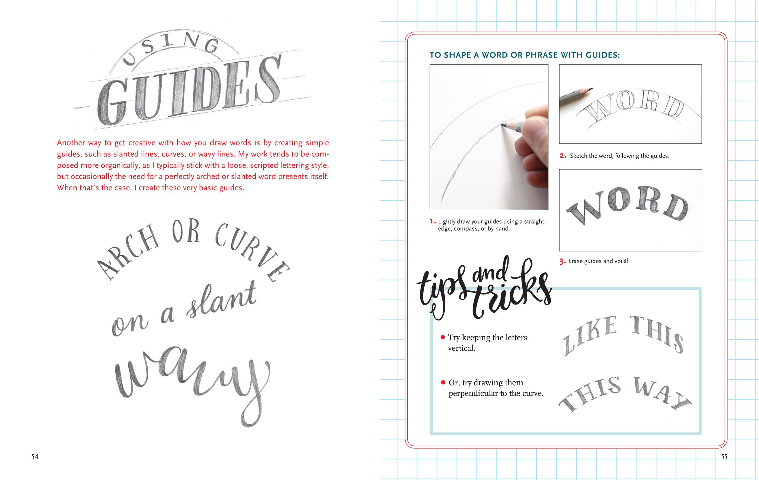 Hand Lettering An Interactive Guide To The Art Of Drawing Letters