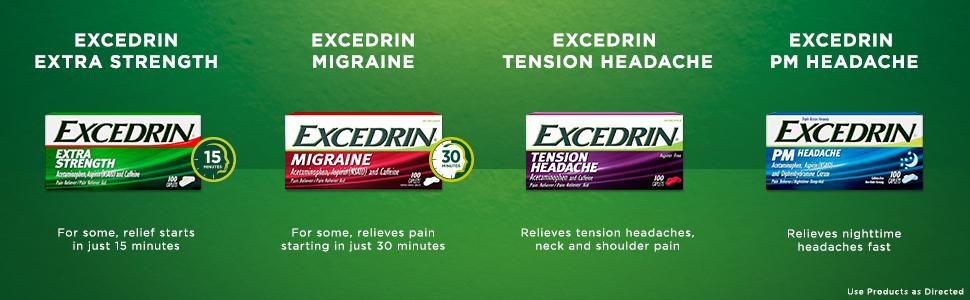 Amazon Com Excedrin Migraine Pain Relief Gel Tabs 20 Count For