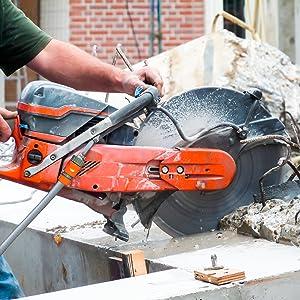 cut off saw concrete cement