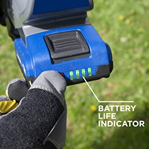 westinghouse battery life indicator fuel gauge lithium ion cordless lawn garden tools 20v 20 volt