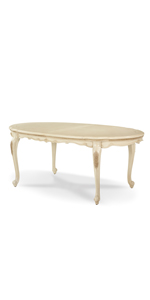 oval dining table, extension table, oval extension table