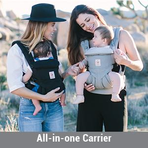 Amazon Com Ergobaby Omni 360 All In One Ergonomic Baby Carrier