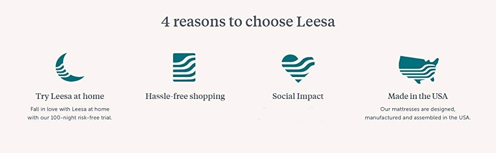 Reasons to Buy Leesa