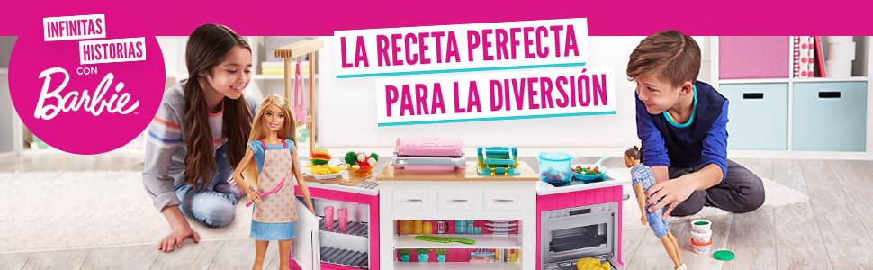 Amazon Es Barbie Quiero Ser Superchef Cocina Con Accesorios Y