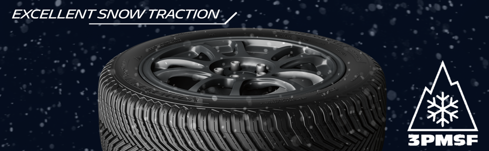 Excellent snow traction