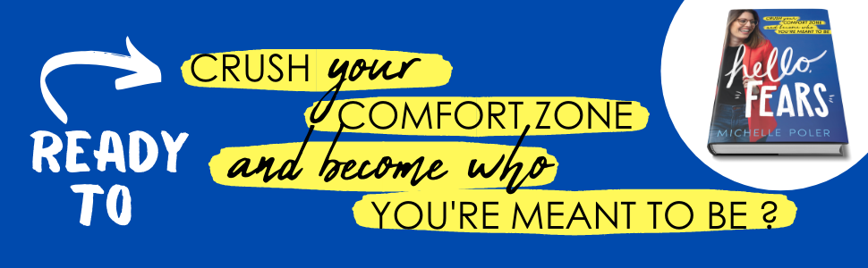 Ready to crush your comfort zone and become who you're meant to be?