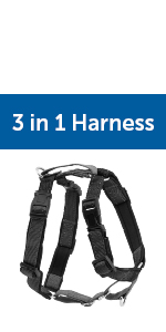 3 in 1 harness dog no pull chest