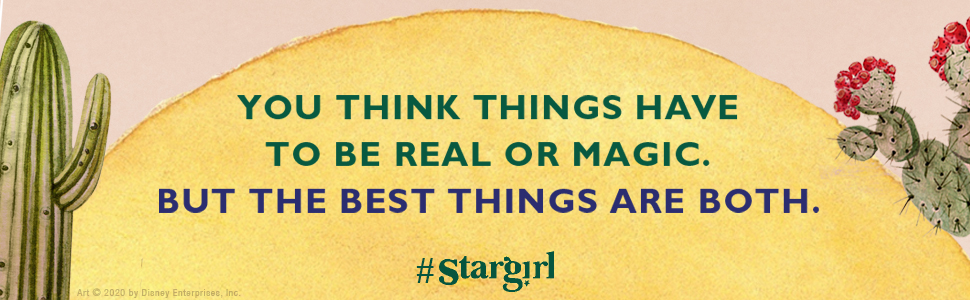stargil, disney, movie stargirl, middle grade, junior high