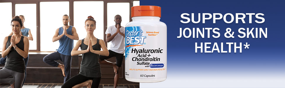 Hyaluronic Acid Chondronitin Helps joint and skin health