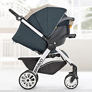 Amazon Com Chicco Bravo Le Trio Travel System