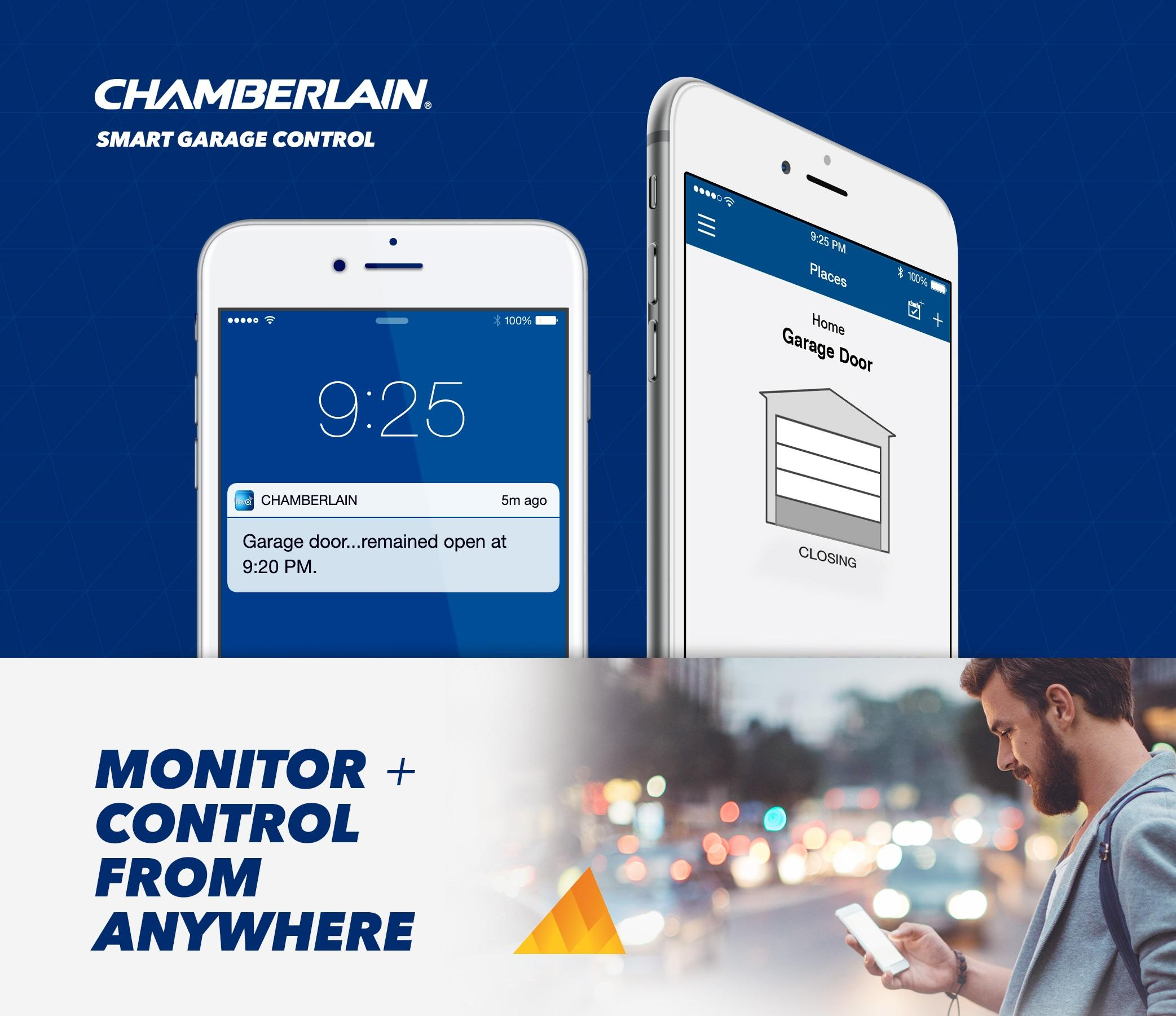 Chamberlain C870 Smartphone-Controlled Durable Chain Drive