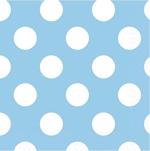 Light Blue Polka Dot Paper Plates 8ct · Light Blue Polka Dot Paper Cake Plates 8ct · Light Blue Polka Dot Paper Napkins 16ct · Light Blue Polka Dot ...  sc 1 st  Amazon.com & Amazon.com: Light Blue Polka Dot Paper Cake Plates 8ct: Kitchen ...