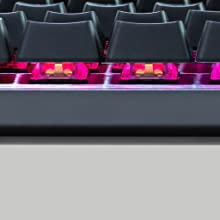 Cooler Master CK550 RGB Illumination Mechanical Gaming Keyboard Gateron Switches Blue