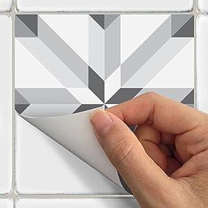 stickers adh sifs carrelages sticker autocollant carreaux de ciment mosa que carrelage mural