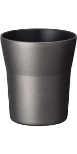 京セラ タンブラー 300ml セラミック 塗膜加工 真空 断熱 食洗機 OK ブラック セラブリッド Kyocera CTB-300-BK