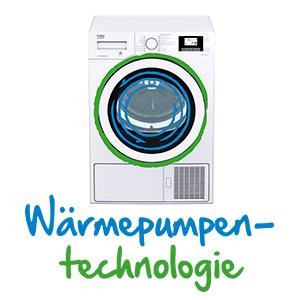 Wärmepumpentechnologie, Beko, Trockner