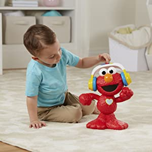 Fun with Elmo!