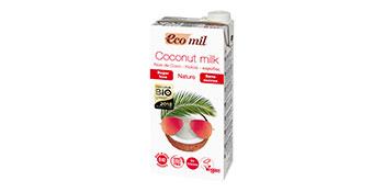 bebida de coco; bebida vegetal sin azucares; leche de coco
