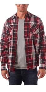 Wrangler Authentics Long Sleeve Flannel Shirt