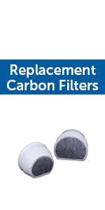 single cell carbon replacement filters