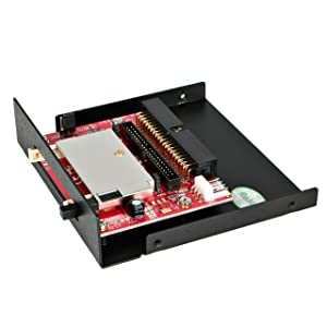 StarTech.com 3.5in Drive Bay IDE to Single CF SSD Adapter Card Reader (35BAYCF2IDE)